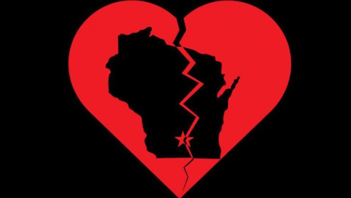 wisconsin heart broke